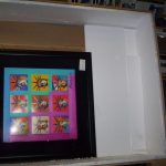 WE LOVE TO PACK AND SHIP ART .This original Peter max was part of his exhibition in Fisher Island.