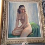 We can pack & ship antique paintings too…